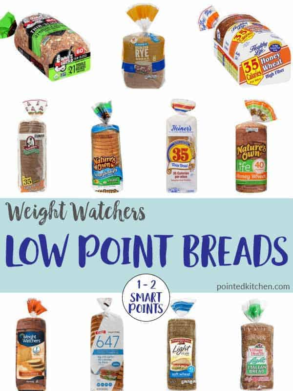 Low Point Breads (2018) Weight Watchers Pointed Kitchen