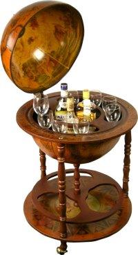 How to Build How To Make A Globe Liquor Cabinet PDF Plans