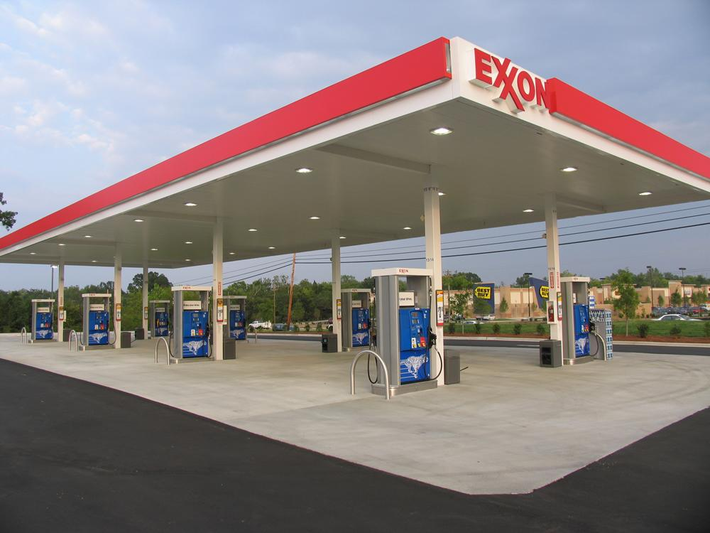 Exxon Gas Card Locations