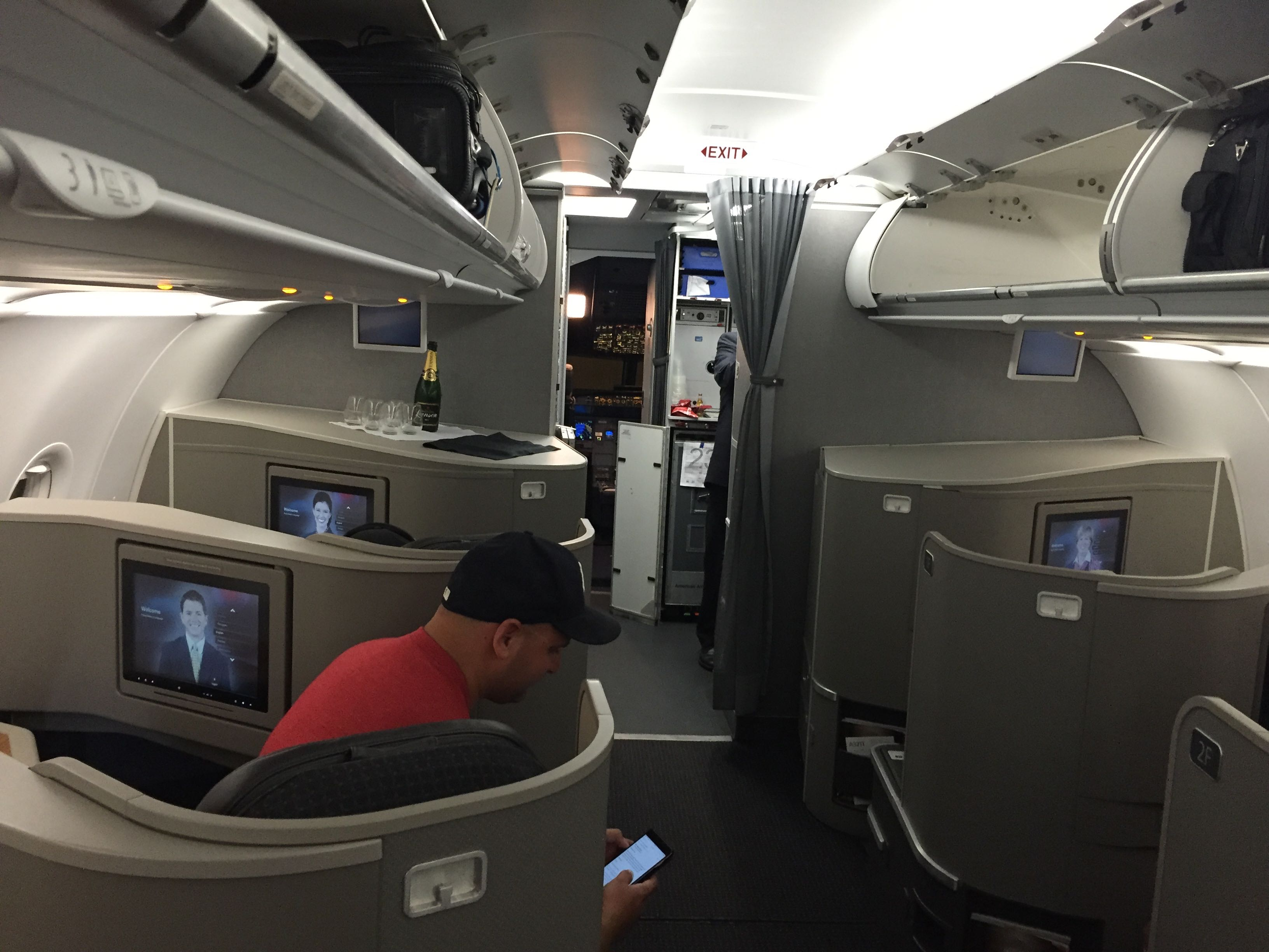 Disappointing American First Class Experience On The A321