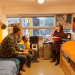 student, students, male, female, Paramount Center, residence hall