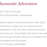 Flamingo Air Romantic Adventure