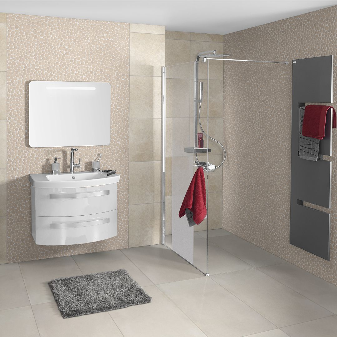 Carrelage Mosaique Salle De Bain Point P Mosaïque Pierre Naturelle Canyon Beige Naturel 30x30 Cm