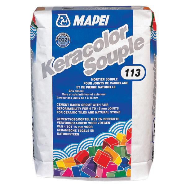Joint Dallage Exterieur Mapei - Mortier De Jointoiement Keracolor Gg Souple N°113