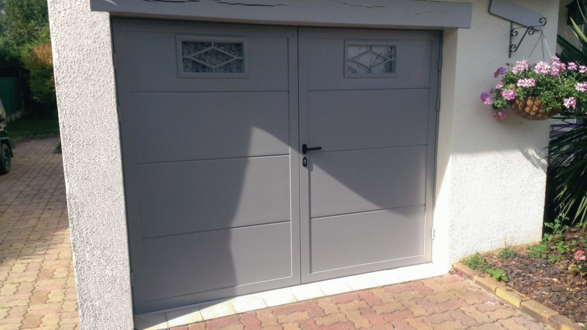 Portes De Garage Novoferm Novoferm Porte De Garage Battante Duoport Point P