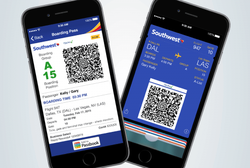 Amazon Credit Card Southwest Airlines Launches Mobile Boarding Passes For