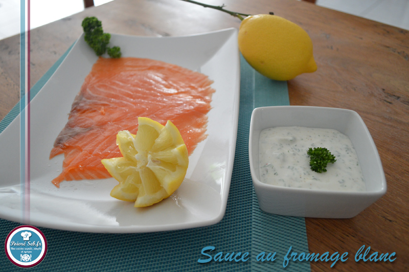 sauce au fromage blanc citronn et persill poivr seb. Black Bedroom Furniture Sets. Home Design Ideas