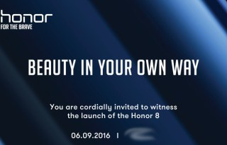 Honor 8 Launch Event Poster