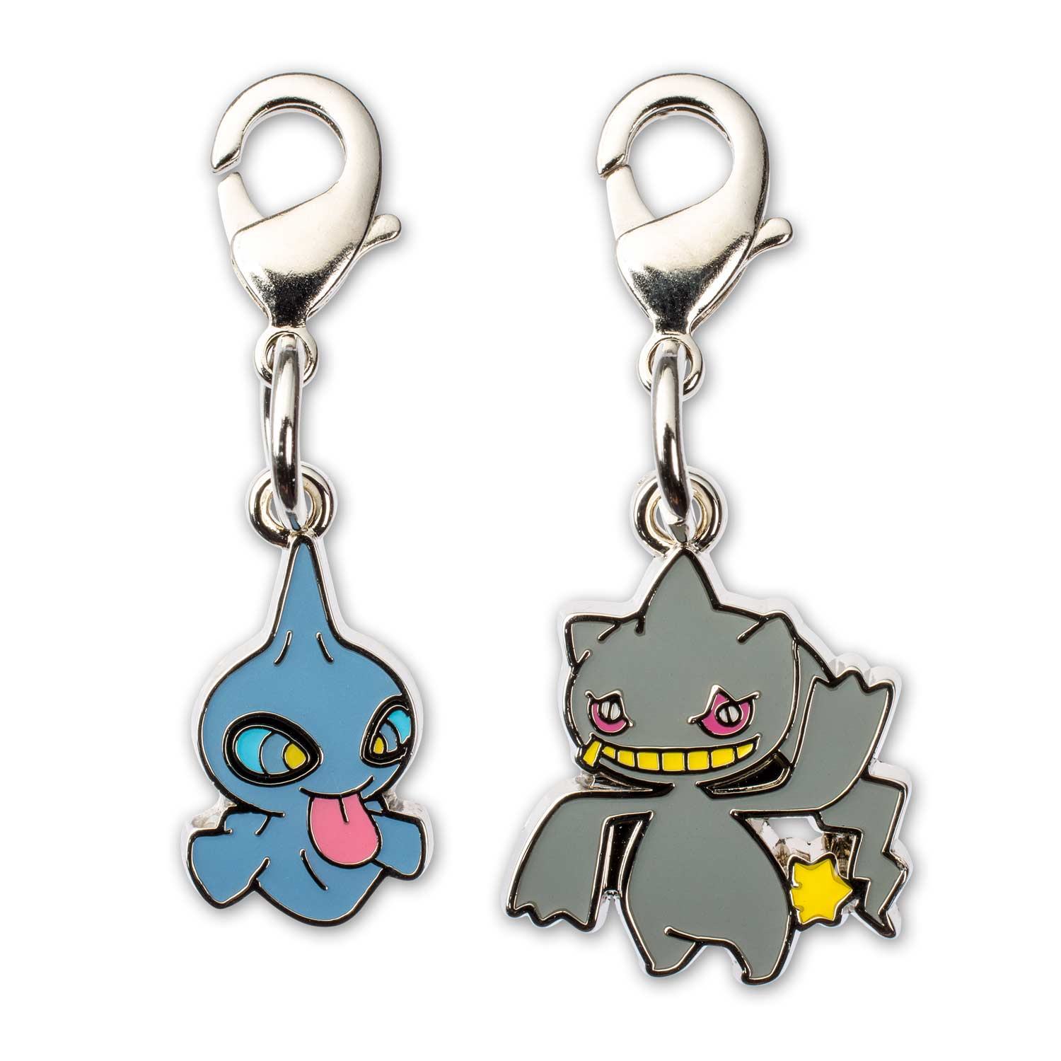 Porte Clef Original Design Shuppet And Banette Pokémon Minis Evo 2 Pack