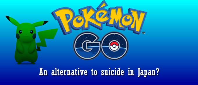 Pokemon Go, an alternative to suicide in Japan