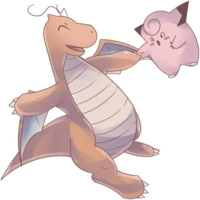 dragonite_and_clefairy_commission_by_autobottesla-da0038o-696x696