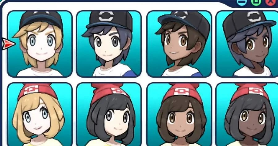 Female Hairstyles In Ultra Moon Pokémon Sun And Moon Hairstyles Pokemon Go Hub