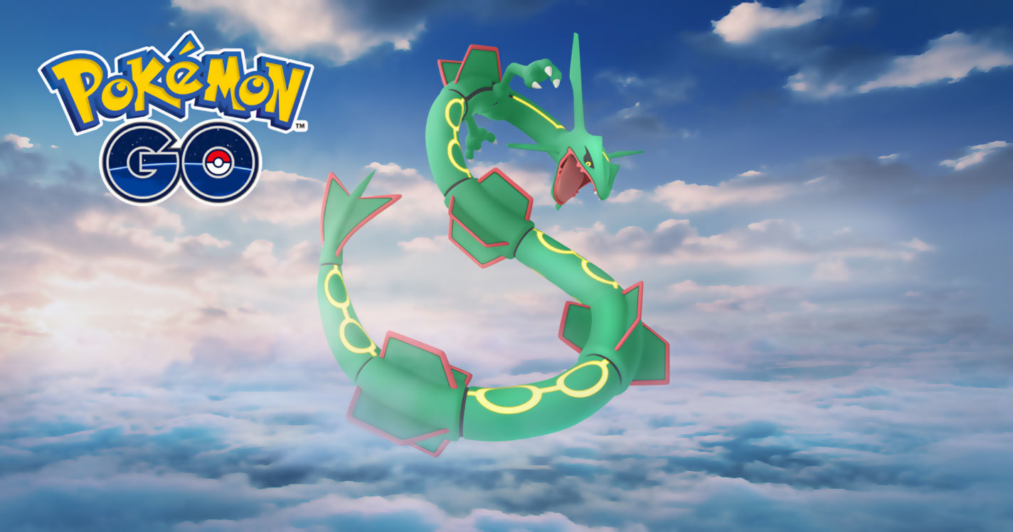 Week End Rayquaza Is Coming Back For A Special Raid Weekend Event