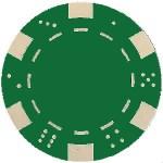 La Valeur Standard Des Jetons Au Vert Poker