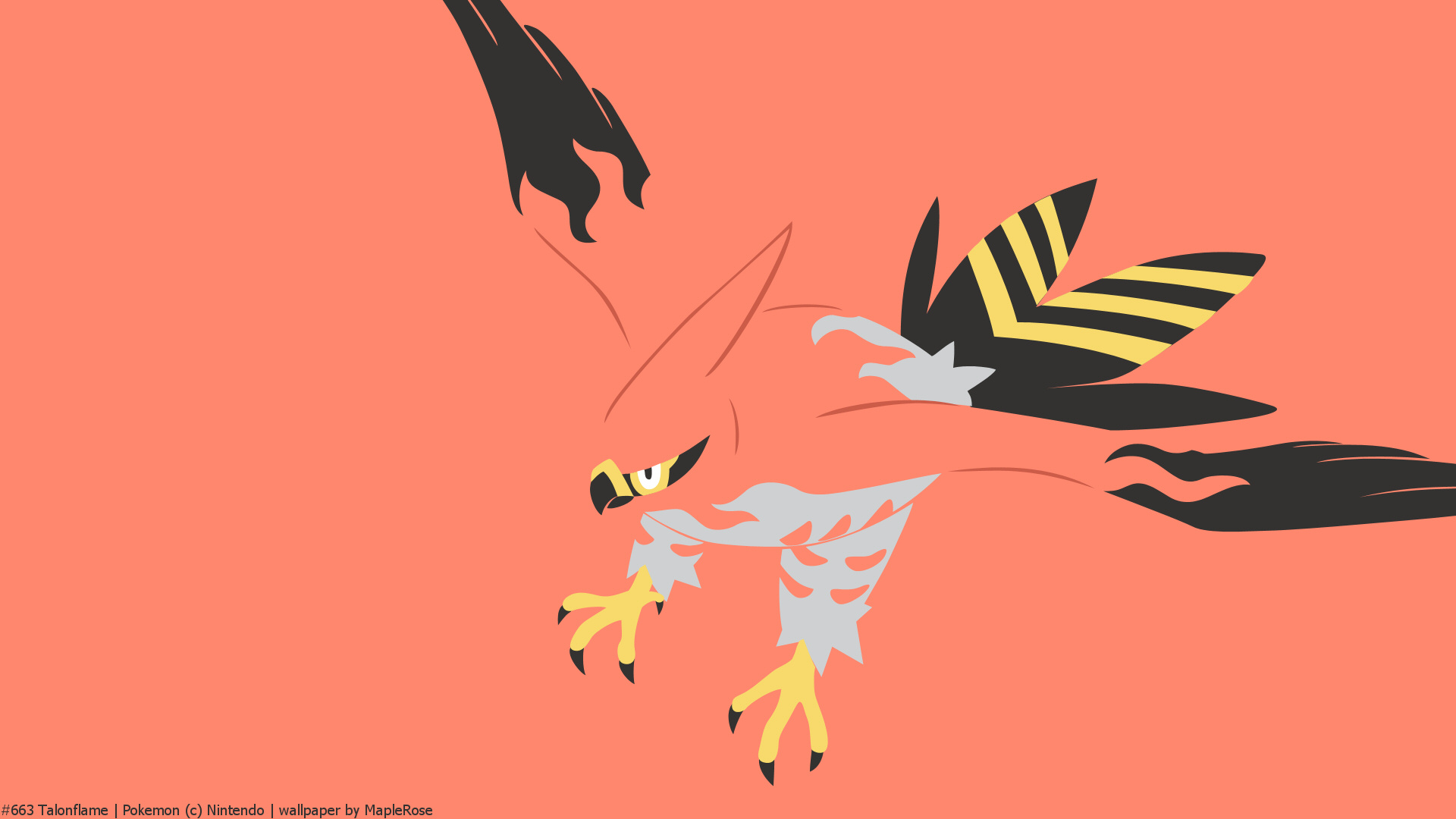 Pokemon X And Y Iphone Wallpaper 663 Talonflame Pok 233 Walls