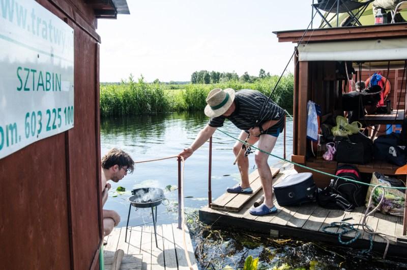 Weekend nad Biebrzą - spływ tratwą (5)