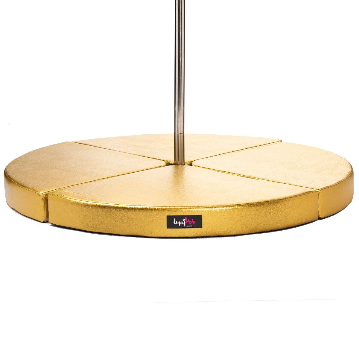 Crash Mats Australia Lupit Premium Gold Round Pole Dance Crash Mats