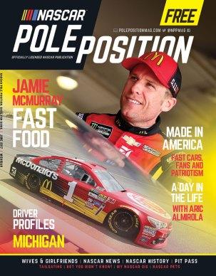 NASCAR Pole Position Michigan in June 2017