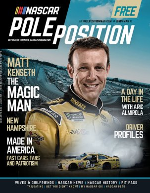 NASCAR Pole Position New Hampshire in July 2017