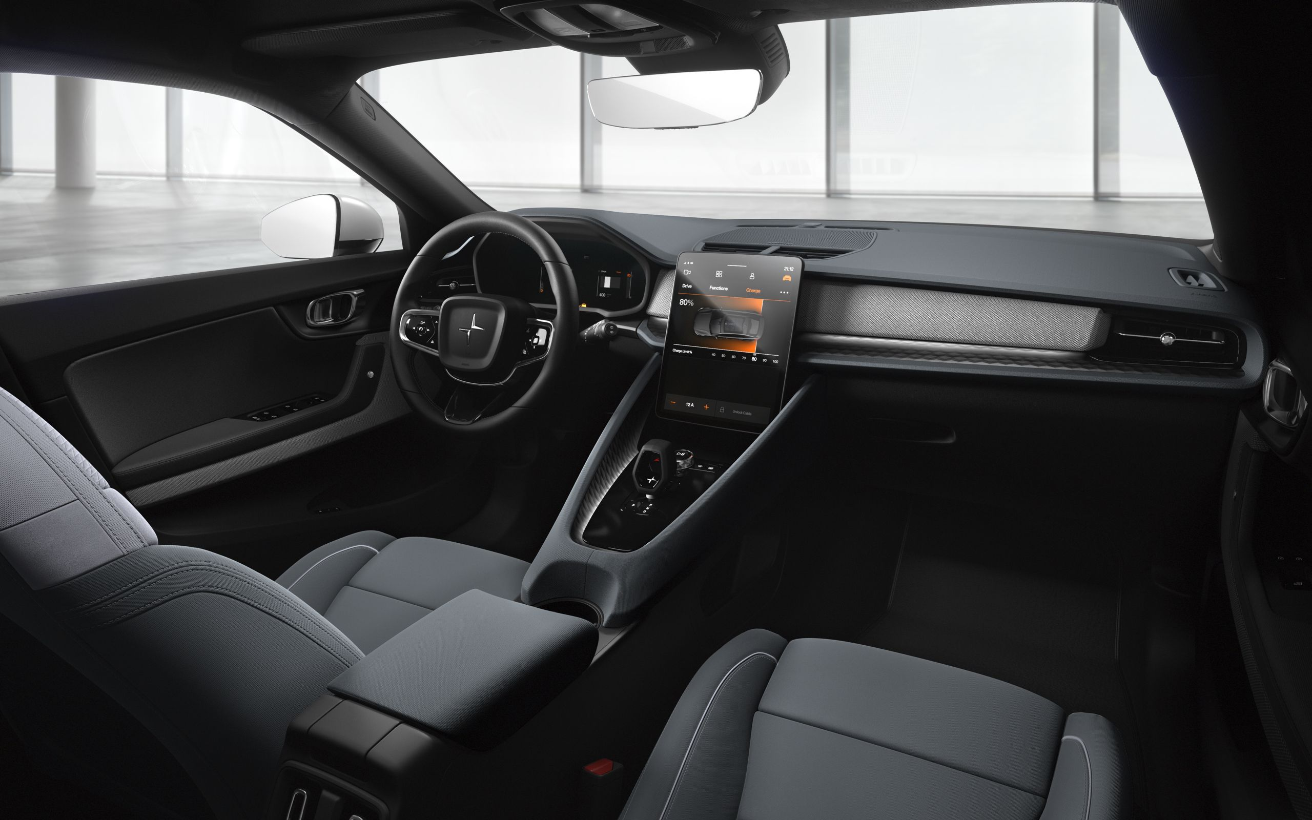 Volvo Interieur The Polestar 2 Polestar