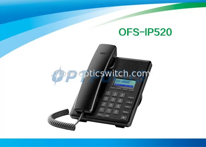 3 Way Conference Call POE IP Phone SIP Telephony Backup 250×205×60 mm