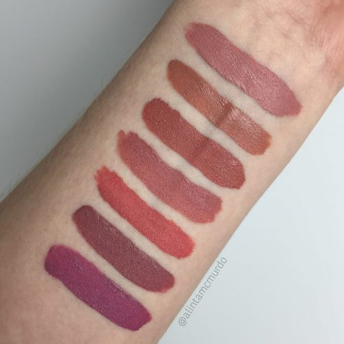 Colourpop Ultra Satin Lip swatches and review - Littlestitious, Magic Wand, Echo Park, Alyssa, November, Dopey and Molly - Polish and Paws