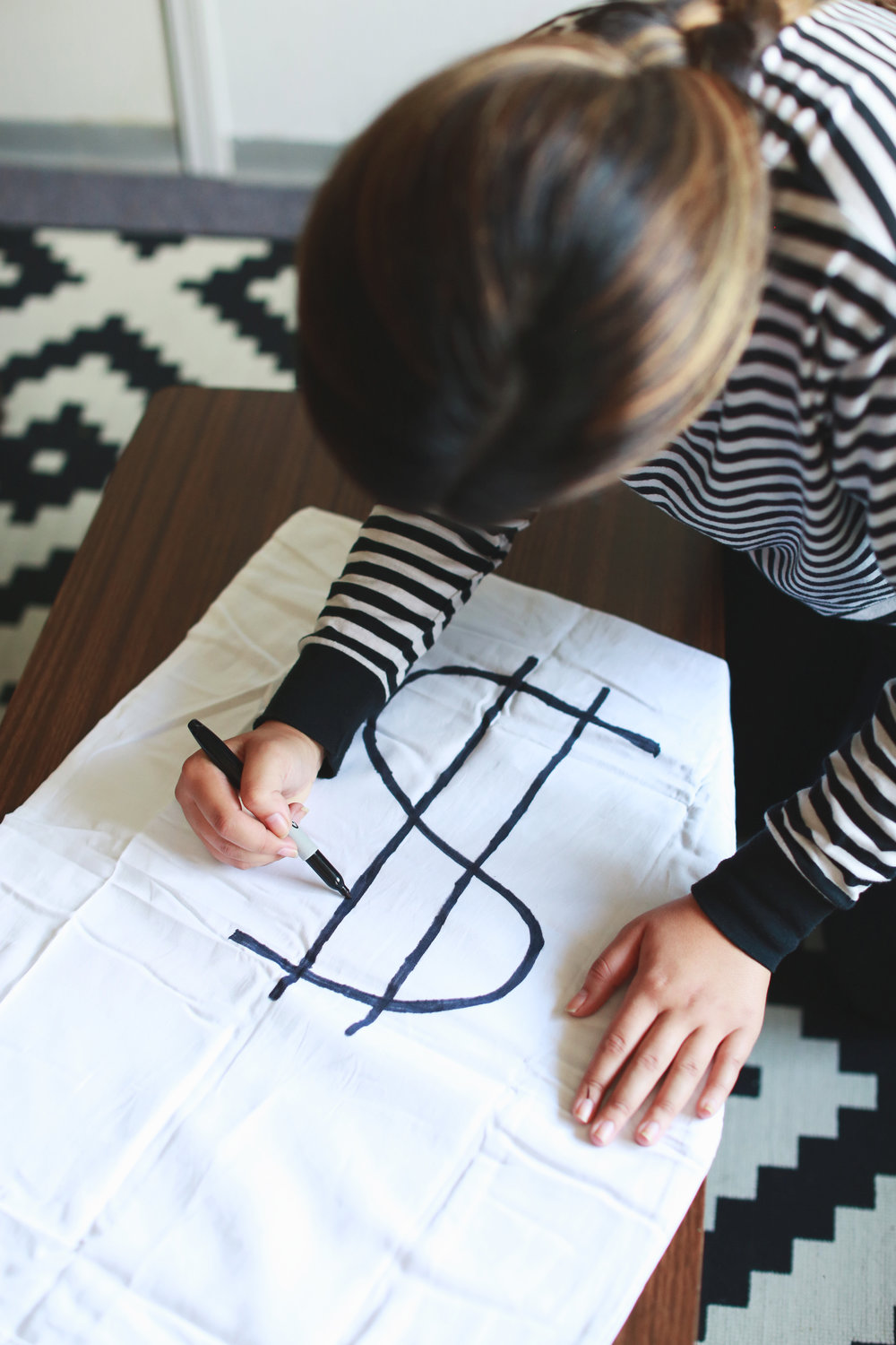 Diy Bank Robber Shirt Bank Robber Halloween Diy Polishandpout