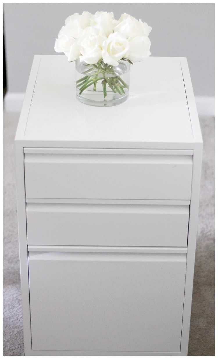 Small Filing Cabinet File Cabinet Organization Organizing In Style Polished Habitat