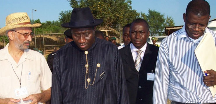 Goodluck Jonathan, quando era governador de Bayelsa. Foto: International Institute of Agriculture / Creative Commons / Flickr