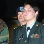 Lynndie England was sentenced to jail due to her participation in violation of human rights at Abu Ghraib detention center in Iraq. Image: US Army