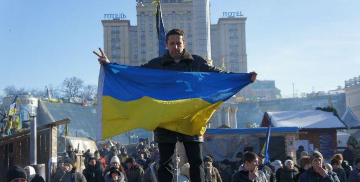 Protestos em Kiev. Imagem: На Майдані / Creative Commons / Flickr