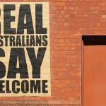 Poster in favour of refugees in Australia. Foto: Michael Coghlan /Creative Commons / Flickr