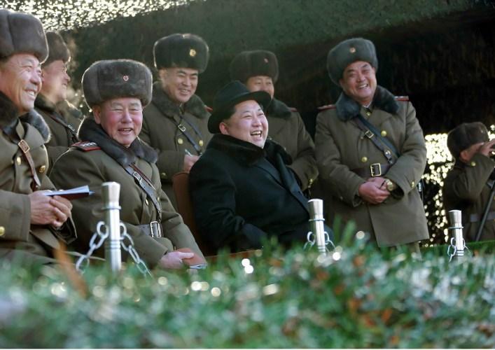 O lider norte-coreano, Kim Jong-un. Foto: AFP PHOTO/KCNA VIA KNS