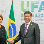 Dilma Rousseff (Brazil) and Xi Jinping (China) during a bilateral meeting at the 5th BRICS Summit. Image: Roberto Stuckert Filho/ PR