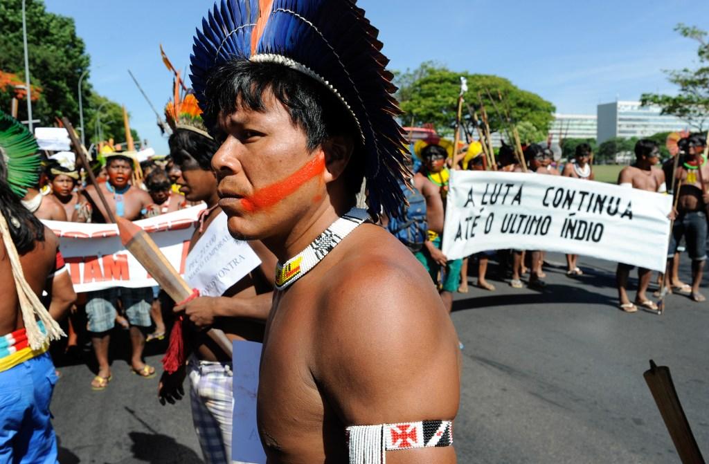 A Proposta de Emenda Constitucional (PEC) 215 retira do Executivo a exclusividade de demarcar terras indígenas. Foto: Lúcio Bernardo Junior/ Câmara dos Deputados
