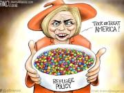 Hillary Skittle Policy - Helloween