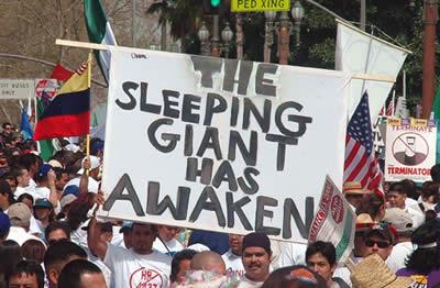 The sleeping giant has awaken