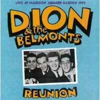 Dion and the Belmonts. Reunion Madison Square Garden '72
