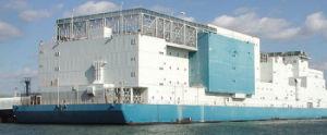 Vernon C. Bain floating prison barge