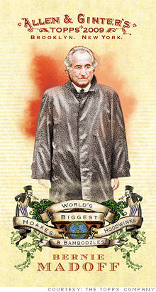 topps madoff card
