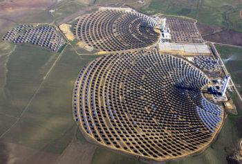 solar power tower. Spain
