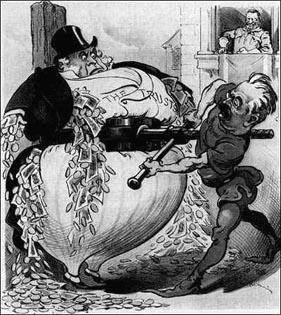 Teddy Roosevelt breaks up the trusts
