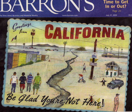 barrons cover. california