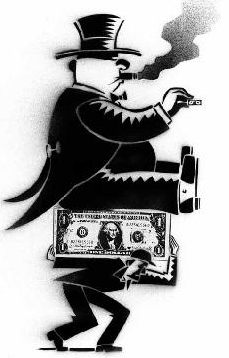 bankster on worker