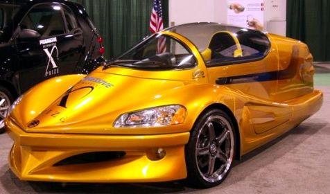 eVARO hybrid sports car