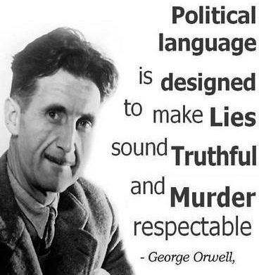 Orwell-political-language