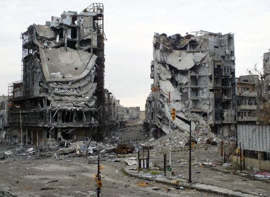 Homs, Syria. Credit voa.gov