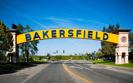 Bakersfield CA sign