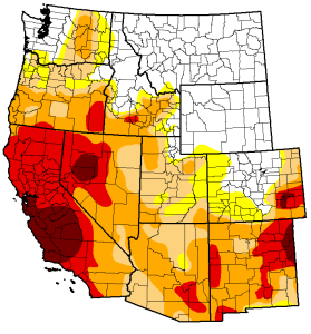 US Drought Monitor. West  05/06/14