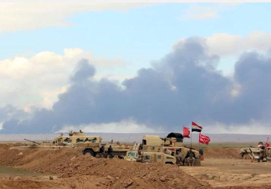 Oil fields near Tikrit